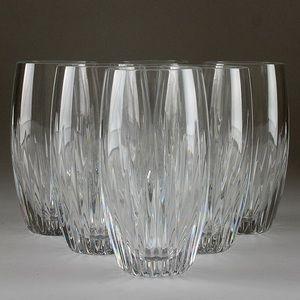 BACCARAT CRYSTAL HIGHBALL GLASSES SET OF 8